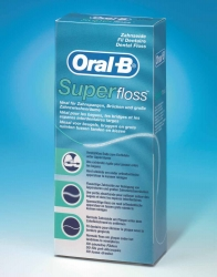 Oral-B SuperFloss Zahnseide-Fäden 50 Stück