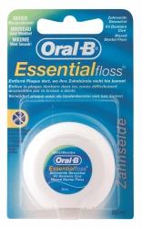 Oral-B Essential Floss Zahnseide Minze gewachst 50m