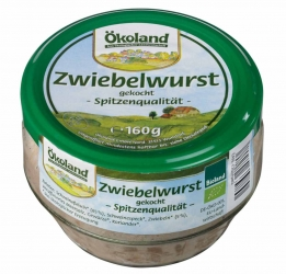ÖKOLAND Zwiebelwurst 160g