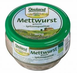 ÖKOLAND Mettwurst 160g