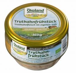 ÖKOLAND Gourmet Truthahnfrühstück 160g