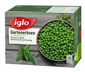 Iglo Gartenerbsen 400g