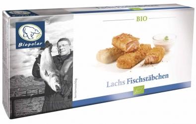 Biopolar Bio Fischstäbchen (Lachs) 6x30g