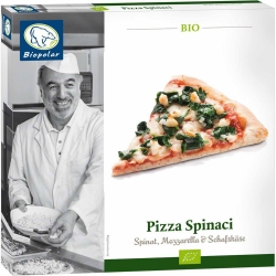 Biopolar Pizza Spinaci 350g
