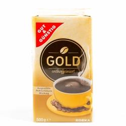 Gut & Günstig Kaffee Gold Entkoffeiniert 500g