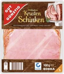 GUT&GÜNSTIG Krustenschinken 100g