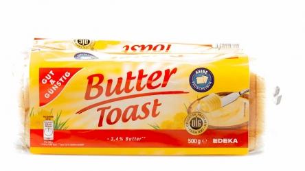 Gut & Günstig Butter Toast 500g