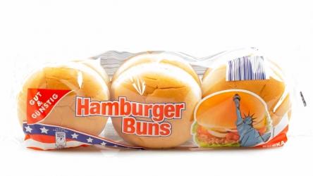 Gut & Günstig Hamburger Buns 6 Stück 300g