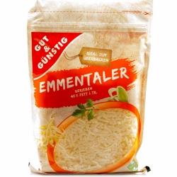 Gut & Günstig Emmentaler gerieben 45% 200g