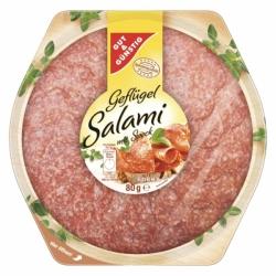 GUT&GÜNSTIG Geflügel Salami Teller 80g