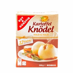 Gut & Günstig Knödel Halb und Halb 12er 309g