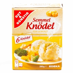 Gut & Günstig Semmelknödel im Kochbeutel 6er 200g