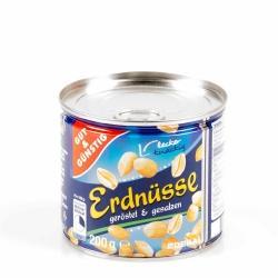 Gut & Günstig Erdnüsse Geröstet & Gesalzen 200g