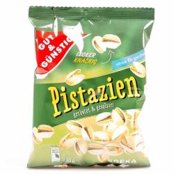 Gut & Günstig Pistazien Geröstet & Gesalzen 250g