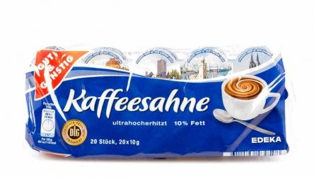 Gut & Günstig Kaffeesahne 10% 20x10g