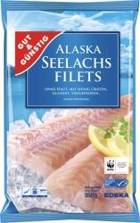 MSC GUT&GÜNSTIG Alaska Seelachsfilet natur 950g