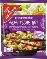 GUT&GÜNSTIG Pfannengemüse Asiatische Art 750g