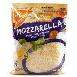 Gut & Günstig Mozzarella gerieben 45% 200g