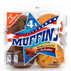 Gut & Günstig Muffins 4er 300g