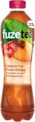 Fuze Tea Schwarzer Tee Pfirsich Hibiskus 1l