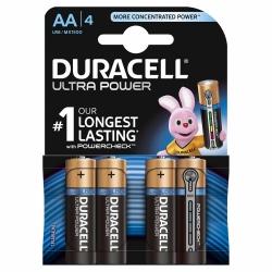 Duracell Ultra Power AA Alkaline-Batterien 4 Stück