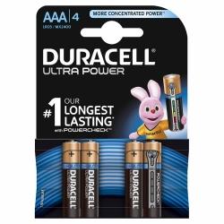 Duracell Ultra Power AAA Alkaline-Batterien 4 Stück