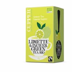 Cupper Grüner Tee Limette Ingwer 35g