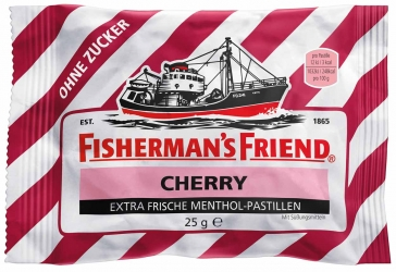 Fisherman´s Friend Cherry ohne Zucker 25g