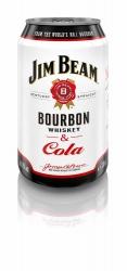 Jim Beam White & Cola 10% 0,33l