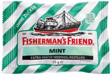 Fisherman´s Friend Mint ohne Zucker 25g