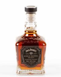 Jack Daniel`s Tennessee Single Barrel Select Whiskey 45% 0,7l