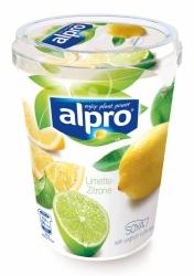 Alpro Sojajoghurt Limette-Zitrone 500g