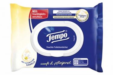 Tempo feuchte Toilettentücher sanft & pflegend 42 Stück
