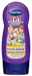 Bübchen 3in1 Shampoo & Shower + Spülung Freche Zwerge 230ml