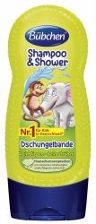 Bübchen Kids Shampoo & Shower Dschungelbande 230ml