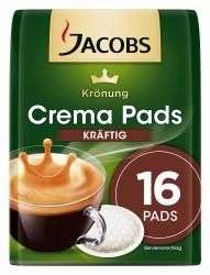 Jacobs Krönung Crema Pads Kräftig 16 Stück