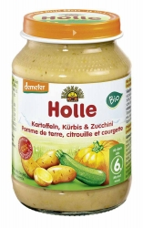 Holle baby food Zucchini Kürbis & Kartoffeln ab dem 6. Monat 190g