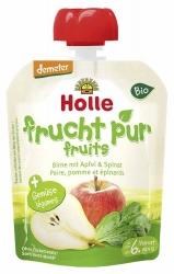 Holle baby food Pouchy Birne mit Apfel & Spinat ab dem 6. Monat 90g