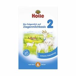 Holle baby food Bio-Folgemilch auf Ziegenmilchbasis 2 nach dem 6. Monat 400g
