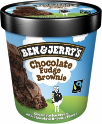 Ben&Jerry Chocolate Brownie 500ml
