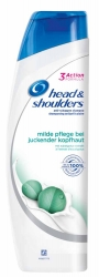 Head & Shoulders Shampoo milde Pflege bei juckender Kopfhaut 300ml