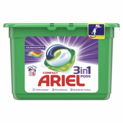 Ariel 3in1 PODS Colorwaschmittel 16WL