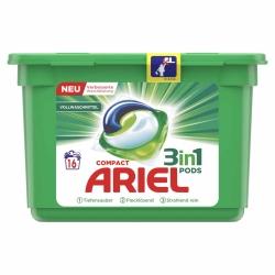 Ariel Compact 3in1 Pods Vollwaschmittel 16WL