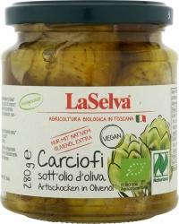 LaSelva Artischocken in Olivenöl 280g