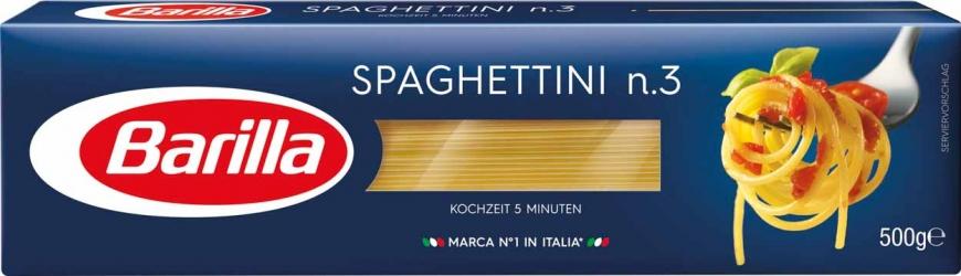 Barilla Spaghettini N.3 500g