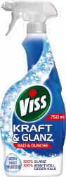 Viss Kraft & Glanz Reiniger Spray - Bad & Dusche 750ml