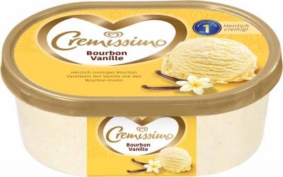 Langnese Cremissimo Bourbon Vanille Eis 1000ml