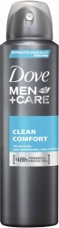 Dove Men+Care Deospray Clean Comfort Anti Transpirant 150ml
