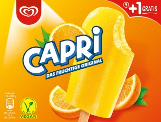 Langnese Capri Familienpackung Langnese Eis 10 x 55ml