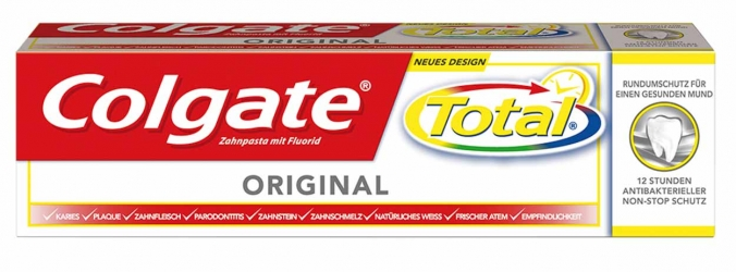 Colgate Zahnpasta Total Original 75ml